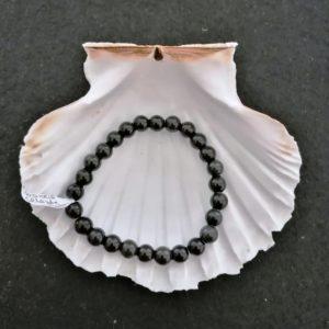 Bracelet Obsidienne œil céleste - 8mm