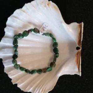 bracelet baroque jade africain 6mm-agapanthe