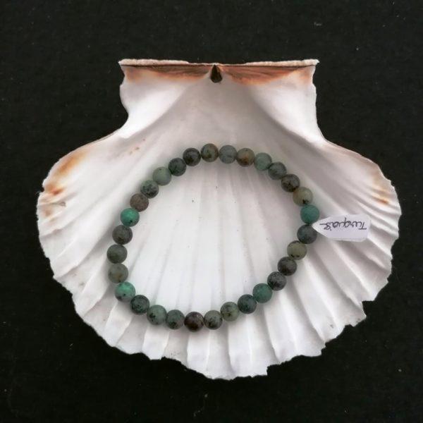 bracelet boule turquoise