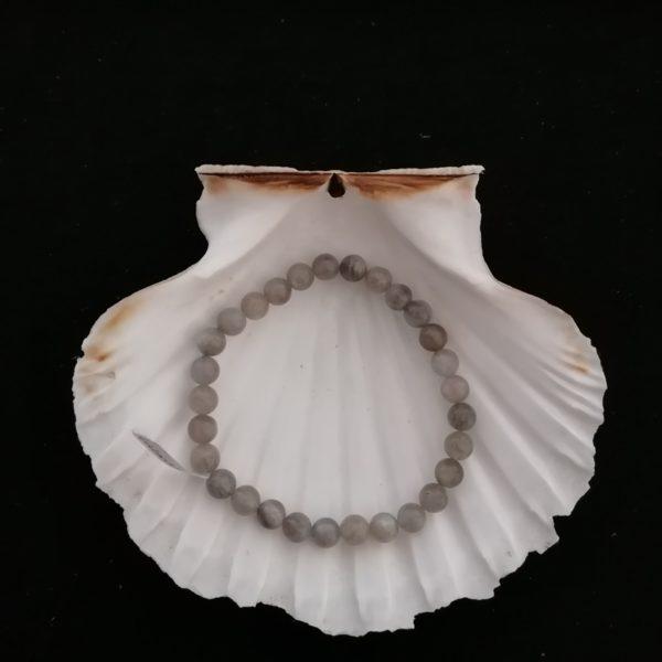 bracelet labradorite 6 mm