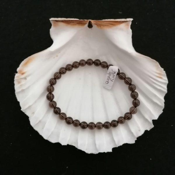 bracelet quartz fumé