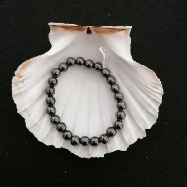 hématite bracelet 8mm
