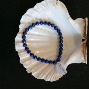 lapis lazuli bracelet -agapanthe 6mm