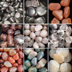 pierres roulees agapanthe