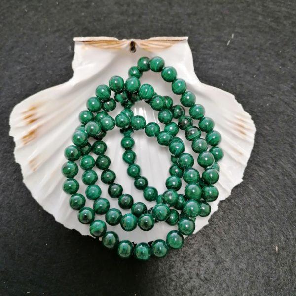 bracelets malachite agapanthe