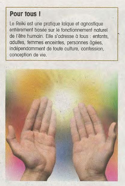 article médecine douce - reiki