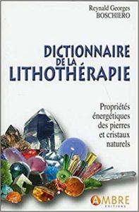 dictionnaire de la lithothérapie-boschiero georges